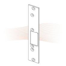 EFFEFF 030 kF rövid lapos nyelvvezetős előlap balos rozsdamentes acél