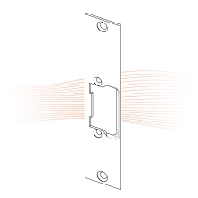 EFFEFF 286 kF rövid lapos nyelvvezetős előlap balos szürke