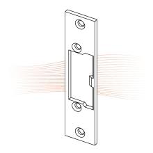 EFFEFF 544 kl rövid lapos nyelvvezetős előlap univerzális rozsdamentes acél