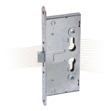 BASI ES-984 fire mortise lock, 65 mm, 235/24