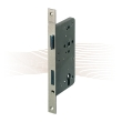 BASI ES 978 mortise lock PC right with angled face plate 280/20