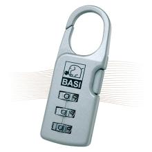 BASI KS 610L poggyászlakat hosszú, ezüst