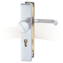 BASI SB 5000 SK1 security fitting, K-H 38-44/12/72, angled stainless steel