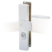 BASI SB 5000 ES0 ZA biztonsági zárpajzs húzólappal, G-K 38-44/10-18/72, szögletes natúr alu