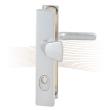 BASI SB 5000 SK2 ZA biztonsági zárpajzs, G-K 50-54/10-18/92, szögletes natúr alu