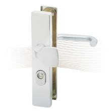 BASI SB 5000 SK2 ZA biztonsági zárpajzs húzólappal, G-K 50-54/10-18/92, szögletes natúr alu