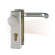 BASI SB/FS 2200K rövid biztonsági zárcímke, G-K 44-66/72 ezüst
