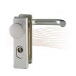 BASI SB/FS 2200K ZA rövid biztonsági zárcímke, G-K 44-66/72 ezüst