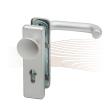 BASI ZT/FS 2100 rövid biztonsági zárcímke, G-K 44-66/72 ezüst