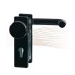 BASI ZT/FS 2150 kurze Schutzrosette, K-D 44-66/72 schwarz