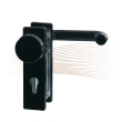BASI ZT/FS 2150 short security escutcheon, K-H 44-66/72 black
