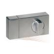BASI KS 500 rim lock, Basi AS profile cylinder (EC), silver
