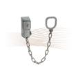 BASI TK 50 lockable security door chain, silver