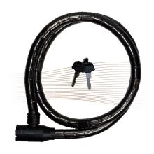 BASI ZR1201 kulcsos láncos kerékpárzár 1,8x120cm fekete