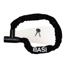 BASI ZR1202 kulcsos láncos kerékpárzár 1x90cm fekete