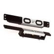 EFFEFF MAGS15000 electric holding magnet, hall sensor 12-28V DC, 15000N 30mm plate, adjustable alu, flush mounting