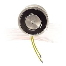 EFFEFF 837BC ajtótartó elektromágnes 300N, csatlakozó oldalra/hátra állítható