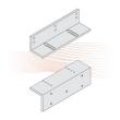 EFFEFF MAGAC U300/500 szerelőlap, Z alakú, variálható