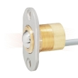 EFFEFF 10405.10R conical contact with cable, 4m, radius face plate