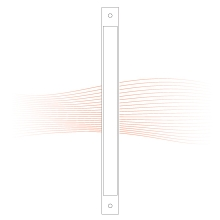 EFFEFF Z09-DBRR3 távtartó lemez 300x24x3