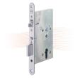 EFFEFF 409X501-4 electromechanical mortise lock, left, 72/55/20