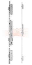 EFFEFF 529X tpz elektromotoros bevéső zár, 12-24V DC, 72/55/24