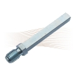 EFFEFF 509-ZWS spindle with threaded end, 75 mm
