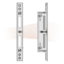 EFFEFF 809HZV állítható ellenlemez 254x25,5x3,8, rozsdamentes acél
