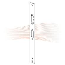 EFFEFF Z09-30A lapos ellenlemez 355,75x28x3, rozsdamentes acél