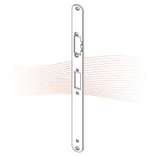 EFFEFF Z09-60A lapos ellenlemez 355,75x24x3, rozsdamentes acél