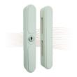 BASI FS 3000 window lock, white, 2 keys